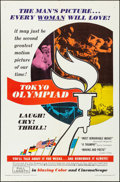 """Movie Posters:Documentary, The Tokyo Olympiad & Other Lot (Jack Douglas Associates, 1965).Folded, Very Fine-. One Sheet (27"""" X 41"""") & English Language...(Total: 2 Items)"""