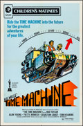 """Movie Posters:Science Fiction, The Time Machine (MGM, R-1972). Folded, Very Fine. One Sheet (27"""" X41""""). Science Fiction.. ..."""