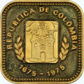Colombia, Colombia: Republic gold Proof 2000 Pesos 1975 PR67 Ultra Cameo NGC,...