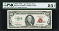 Small Size:Legal Tender Notes, Fr. 1550 $100 1966 Legal Tender Note. PMG About Uncirculated 55 EPQ.. ...
