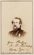 Photography:CDVs, Union General David B. Birney Carte de Visite Signed...