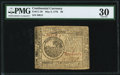 Continental Currency May 9, 1776 $6 PMG Very Fine 30