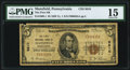 National Bank Notes:Pennsylvania, Mansfield, PA - $5 1929 Ty. 1 The First NB Ch. # 8810 PMG Choice Fine 15.. ...