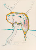 Prints & Multiples:Contemporary, Salvador Dalí (1904-1989). Tear of Time. Lithograph in colors on paper. 29-1/4 x 21 inches (74.3 x 53.3 cm) (sheet). Ed....