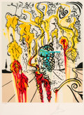 Prints & Multiples:Contemporary, Salvador Dalí (1904-1989). Portrait of Autumn, 1980. Lithograph in colors on Arches paper. 26 x 18-3/4 inches (66 x 47.6...