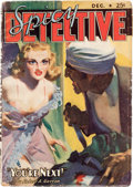 Pulps:Detective, Spicy Detective Stories - December 1938 (Culture) Condition: VG....