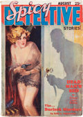Pulps:Detective, Spicy Detective Stories - August 1934 (Culture) Condition: VG....