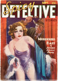 Pulps:Detective, Spicy Detective Stories - September 1936 (Culture) Condition: VG+....