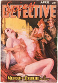 Pulps:Detective, Spicy Detective Stories - April 1937 (Culture) Condition: VG....