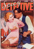 Pulps:Detective, Spicy Detective Stories - June 1937 (Culture) Condition: VG....