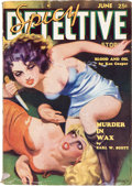 Pulps:Detective, Spicy Detective Stories - June 1935 (Culture) Condition: VG-....