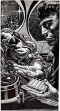 Original Comic Art:Illustrations, Kelly Freas The Gateway Trip: Tales and Vignettes of the Heechee Illustration Original Art (Del Rey, 1990)....