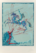 Prints & Multiples:Contemporary, Salvador Dalí (1904-1989). Joan of Arc, 1977. Lithograph in colors on Arches paper. 29-1/2 x 21-1/2 inches (74.9 x 54.6 ...