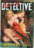 Pulps:Detective, Spicy Detective Stories - February 1941 (Culture) Condition: VG....