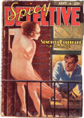 Pulps:Detective, Spicy Detective Stories - September 1938 (Culture) Condition: VG-....