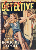 Pulps:Detective, Spicy Detective Stories - September 1941 (Culture) Condition: Average VG+....