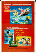 "Movie Posters:Animation, The Rescuers/Mickey's Christmas Carol Combo (Buena Vista, R-1983).Rolled, Fine/Very Fine. Poster (40"" X 60""). Animation.. ..."