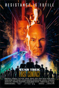 "Movie Posters:Science Fiction, Star Trek: First Contact & Other Lot (Paramount, 1996). Rolled,Overall: Very Fine. One Sheets (3) (Approx. 27"" X 40""..."