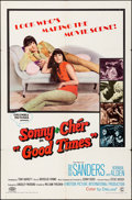 """Movie Posters:Comedy, Good Times (Columbia, 1967). Folded, Fine/Very Fine. One Sheet (27""""X 41""""). Comedy.. ..."""