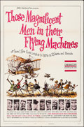 Movie Posters:Adventure, Those Magnificent Men in Their Flying Machines & Other Lot(20th Century Fox, 1965). Folded, Very Fine-. One Sheets (...