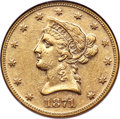 Liberty Eagles, 1871 $10 AU55 NGC....