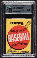Baseball Cards:Unopened Packs/Display Boxes, 1963 Topps Baseball 2nd/3rd Series 5-cent Wax Pack GAI NM-MT+ 8.5. ...
