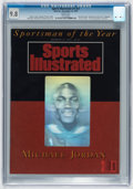 Basketball Collectibles:Publications, 1991 Michael Jordan Sports Illustrated - CGC 9.8, None Higher!...