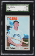 Baseball Cards:Singles (1970-Now), 1970 Topps Al Kaline #640 SGC 92 NM/MT+ 8.5....