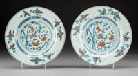 A Pair of Chinese Doucai Porcelain Plates, Qing Dynasty, Yongzheng Period 8-5/8 inches (21.9 cm) (each)  PRO
