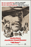 """Movie Posters:Western, Will Penny & Other Lot (Paramount, 1968). Folded, Very Fine-.One Sheets (2) (27"""" X 41""""). Western.. ... (Total: 2 Items)"""