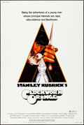 "Movie Posters:Science Fiction, A Clockwork Orange (Warner Brothers, 1972). Rolled, Very Fine-. Poster (40"" X 60""). Philip Castle Artwork. Science Fiction...."