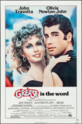 """Movie Posters:Musical, Grease (Paramount, 1978). Folded, Very Fine. One Sheet (27"""" X 41""""),Uncut Pressbook (24 Pages, 12"""" X 17.5""""), & Photo (8"""" X 1...(Total: 3 Items)"""