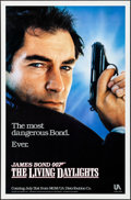 "Movie Posters:James Bond, The Living Daylights & Other Lot (United Artists, 1987). Rolled, Very Fine. One Sheets (2) (27"" X 41"") SS Advance. James Bon... (Total: 2 Items)"