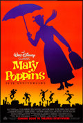 """Movie Posters:Fantasy, Mary Poppins & Other Lot (Buena Vista, R-1994). Rolled, VeryFine+. 30th Anniversary One Sheet (27"""" X 40"""") & 50th Ann..."""