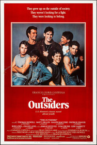 """The Outsiders & Other Lot (Warner Brothers, 1982). Rolled, Fine/Very Fine-. Posters (2) (40"""" X 60""""). Crime..."""