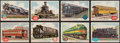 Non-Sport Cards:Lots, 1955 Topps Rails and Sails Collection (102). ...