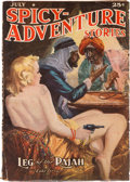Pulps:Adventure, Spicy Adventure Stories - July 1939 (Culture) Condition: GD/VG....