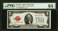 Small Size:Legal Tender Notes, Fr. 1501 $2 1928 Legal Tender Note. PMG Choice Uncirculated 64 EPQ.. ...