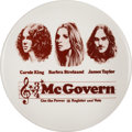 Political:Pinback Buttons (1896-present), George McGovern: Classic Concert Pin.. ...