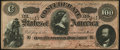 """Confederate Notes:1864 Issues, CT65/491 """"Havana Counterfeit"""" $100 1864 Crisp Uncirculated.. ..."""