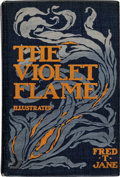 Books:First Editions, Fred T. Jane The Violet Flame First Illustrated American Edition (Laird & Lee, 1899)....