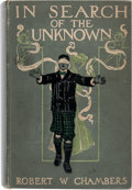 Books:First Editions, Robert W. Chambers In Search of The Unknown First Edition - Clark Ashton Smith's Personal Copy (Harper & Brothers,...