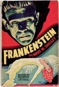 Mary Shelley Frankenstein First Photoplay Edition (Grosset & Dunlap, 1931)