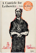 Books:First Editions, Walter M. Miller Jr. A Canticle for Leibowitz First Edition (J.B. Lippincott, 1960)....