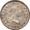Early Half Dollars, 1795 50C 2 Leaves, O-108a, T-17, R.4, XF45 PCGS....