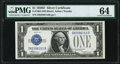 Small Size:Silver Certificates, Fr. 1604 $1 1928D Silver Certificate. D-B Block. PMG Choice Uncirculated 64.. ...