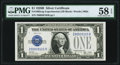 Small Size:Silver Certificates, Fr. 1602 $1 1928B Silver Certificate. Z-B Experimental. PMG Choice About Unc 58 EPQ.. ...