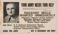 Political:Posters & Broadsides (1896-present), Harry S Truman: Rare WWII Incentive Poster.. ...