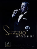 "Movie Posters:Musical, Sinatra 80th: Live in Concert & Other Lot (Capitol Records, 1995). Rolled, Very Fine+. Record Poster (18"" X 24"") & Book Post... (Total: 2 Items)"