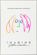 "Movie Posters:Rock and Roll, Imagine: John Lennon (Warner Brothers, 1988). Rolled, Very Fine-. Hand Numbered Limited Edition One Sheet (27"" X 40.5"") SS, ..."
